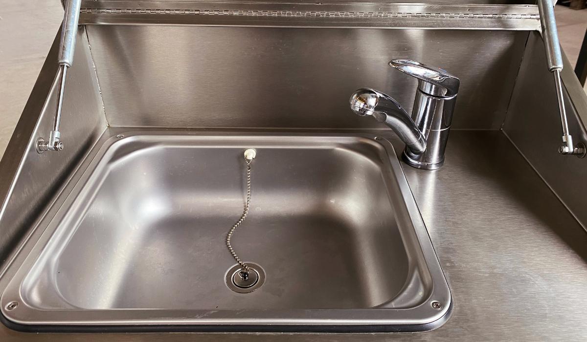 Trinkwasserversorgung mobile Waschbecken Mainhardt